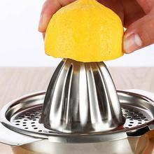 Мини-соковыжималка ручной Оранжевый производитель лимонного сока из нержавеющей стали ручная соковыжималка лимоновыжималка Бытовая мини-техника