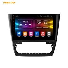Feeldo 10.1 дюймов Android 6.0 (64bit) восьмиядерный DDR3 2 г/32 г/FDD 4 г автомобильный DVD GPS Радио головное устройство для Skoda yeti 2014-2017