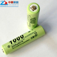 In 1.2V 1000mAh 7, low self discharge NiMH rechargeable battery electric toothbrush small pudding Li-ion Cell