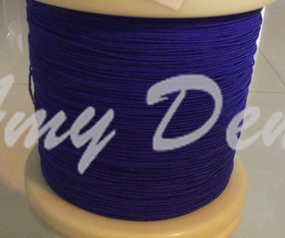 10 Meters/lot  0.04x660 Shares Special Natural Silk Mill Around The Antenna Wire Wire Line Liz Blue