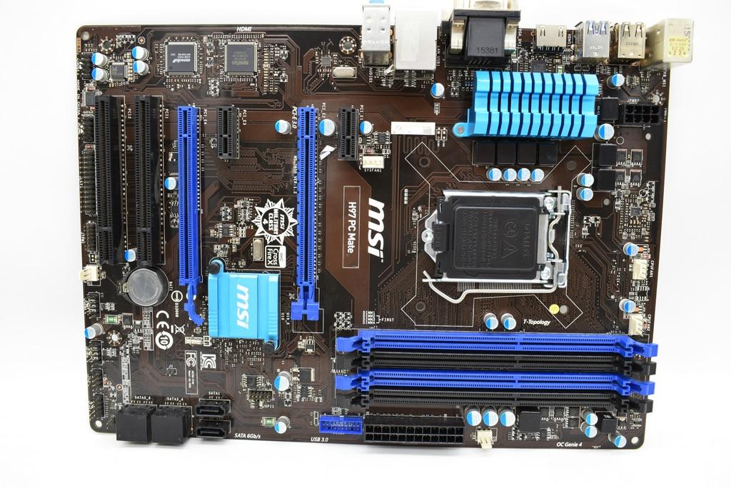 MSI H97 PC Mate Motherboard Intel H97 LGA 1150 DDR3 HDMI DVI VGA USB3.0 ATX