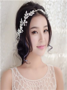 2016-New-Arrival-Bridal-Veil-Leaf-Beading-Crystal-Handmade-Headwear-Wedding-Accessories-Ribbon-Party-Bridal-Hair