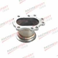 T25 T28 GT25 GT28 To 2.5 63mm V band Clamp Flange Turbo Down Pipe Adapter
