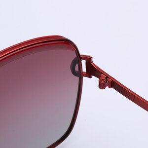 Image 4 - オリジナルスタースタイル HD 偏光女性の高級サングラス女性ブランドデザイナークール最新の女性 HD UV400 サングラス gafas