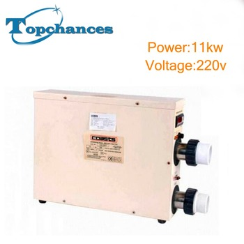 Brand New 11KW 220V Electric Water Thermostat Heater for Swimming Pool & SPA Bathe Free shipping