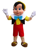 cosplay costume Pinocchio Cartoon Adult Mascot Costume High Quality Fancy Dress