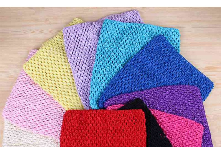 FENGRISE X23cm Tulle Spool Tutu Crochet Chest Wrap Tube Tops Apparel Sewing Knit Fabric Girl Birthday Gifts Headbands Skirt 10