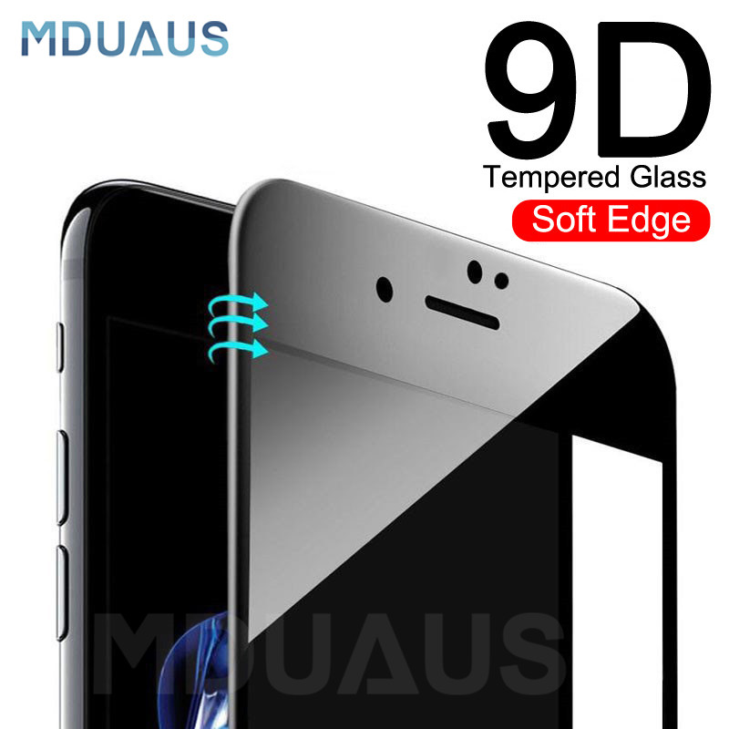 New 9D Full Cover Soft Edge Tempered Glass on the For iPhone 6 6s 7 8 Plus Screen Protector Film For iPhone X XR XS Max GlassNew 9D Full Cover Soft Edge Tempered Glass on the For iPhone 6 6s 7 8 Plus Screen Protector Film For iPhone X XR XS Max Glass