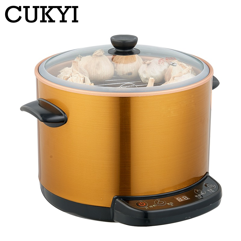 CUKYI 3 in 1 Multifunctional 6L Automatic zymosis pot Black garlic fermenter pickle black garlic Yeast