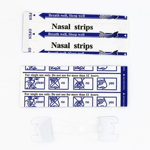 200 pcs lote 66x19mm tiras nasais transparente melhor passagem da respiracao para parar o congestionamento