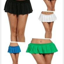 5 Colors Sexy Short Mini Skirt Women Micro Mini Skirt Dance
