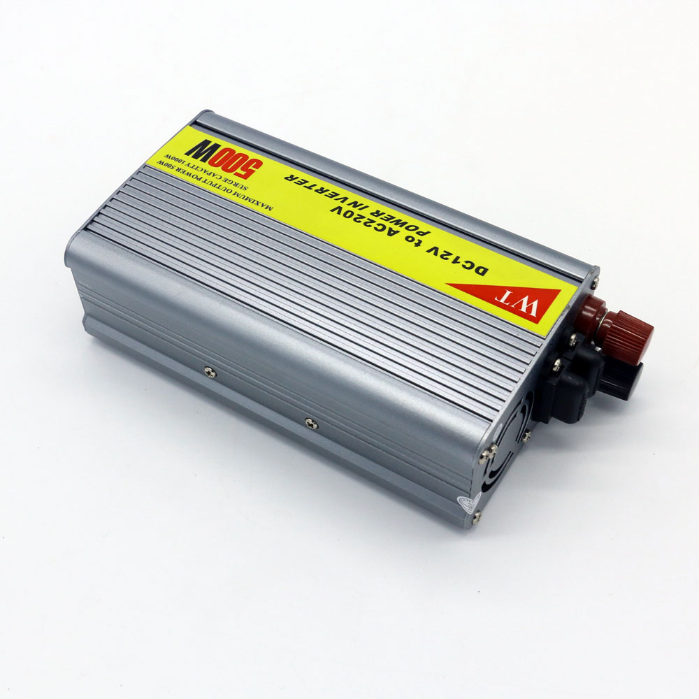 Dc 12V to Ac 220V 500W Car Power Inverter with Universal Socket Made in China