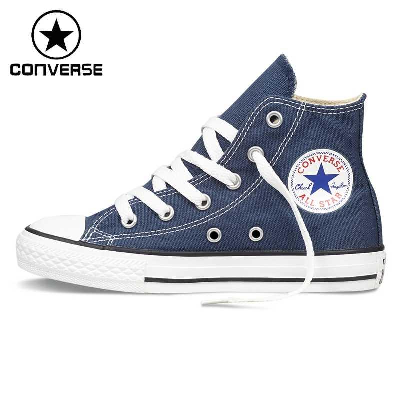 Colore rosa cipolla Pronto  Original New Arrival Converse Classic Kids' Canvas Shoes High top  Sneakser Skateboarding Shoes  - AliExpress