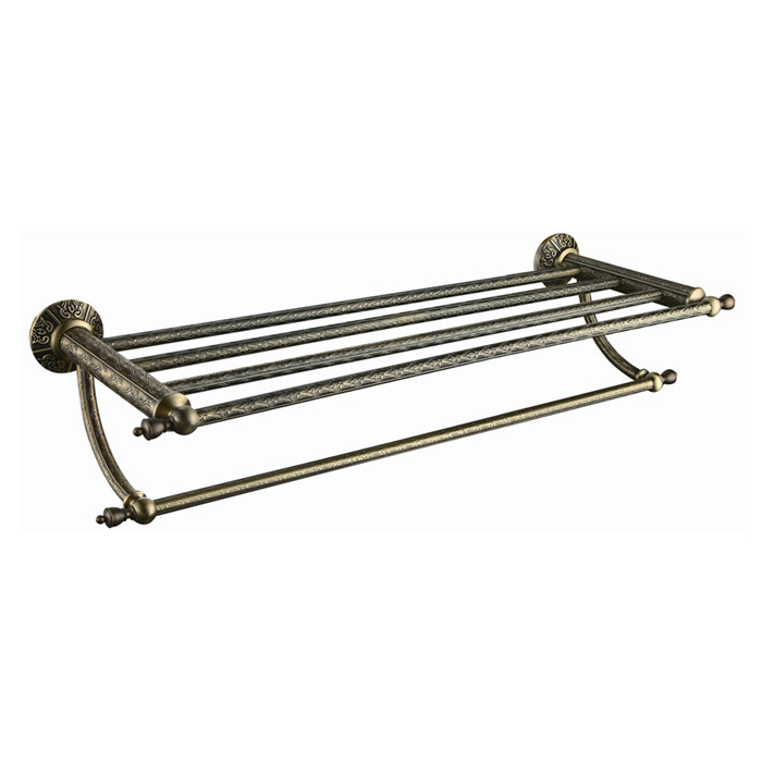 Free shiping Double Towel Racks,Towel Holder/Shelf,brass Construction,Antique Bronze finish,bathroom accessories AB008a towel rings wall mounted towel holder towel ring solid brass construction antique bronze finish bathroom accessories hj 1808