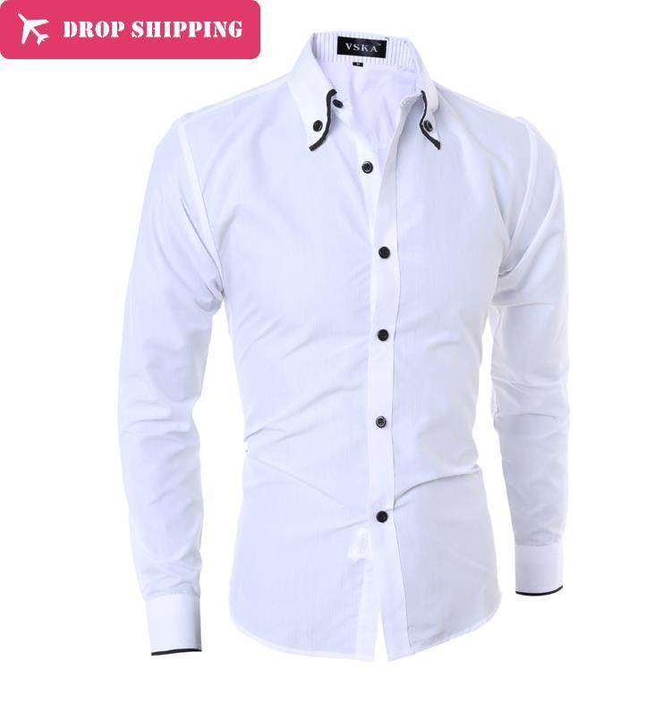 Vska Mens Linen Cotton Button Down Casual Lapel Relaxed Long Sleeve Shirt