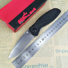 OEM Quality 1670 S30V blade Black 6061-T6 aluminum Handle with D2 Stonewash Blade Tactical Folding Knife Camping EDC Hand Tool