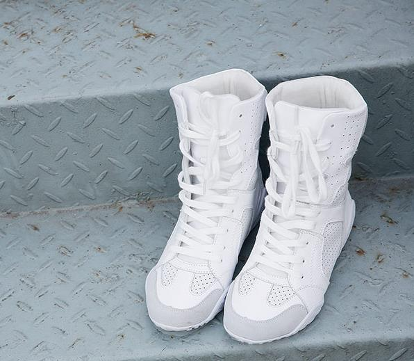 Luxury brand Hip-hop dancing cool white Shoes Fashion Boots High Top Trainers genuine leather martin Boots sneakers 3