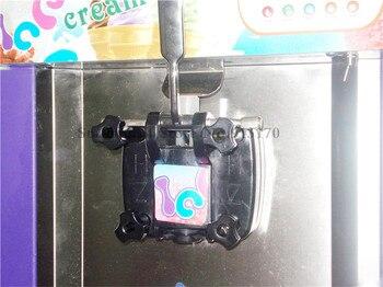 Gefrorene Joghurtmaschine | Ein Geschmack Softeis Maschine Desktop Art Gefrorenen Joghurt-eis-maschine 220 V 1450 Watt