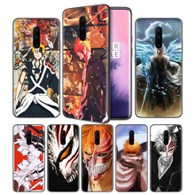 Japanese Anime Bleach Soft Black Silicone Case Cover for OnePlus 6 6T 7 Pro 5G Ultra-thin TPU Phone Back Protective Fundas Coque