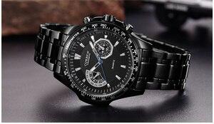 Image 3 - Mens Watches CURREN Fashion Business Quartz Watch Men Sport Full Steel Waterproof Wristwatch Male Clock Relogio Masculino