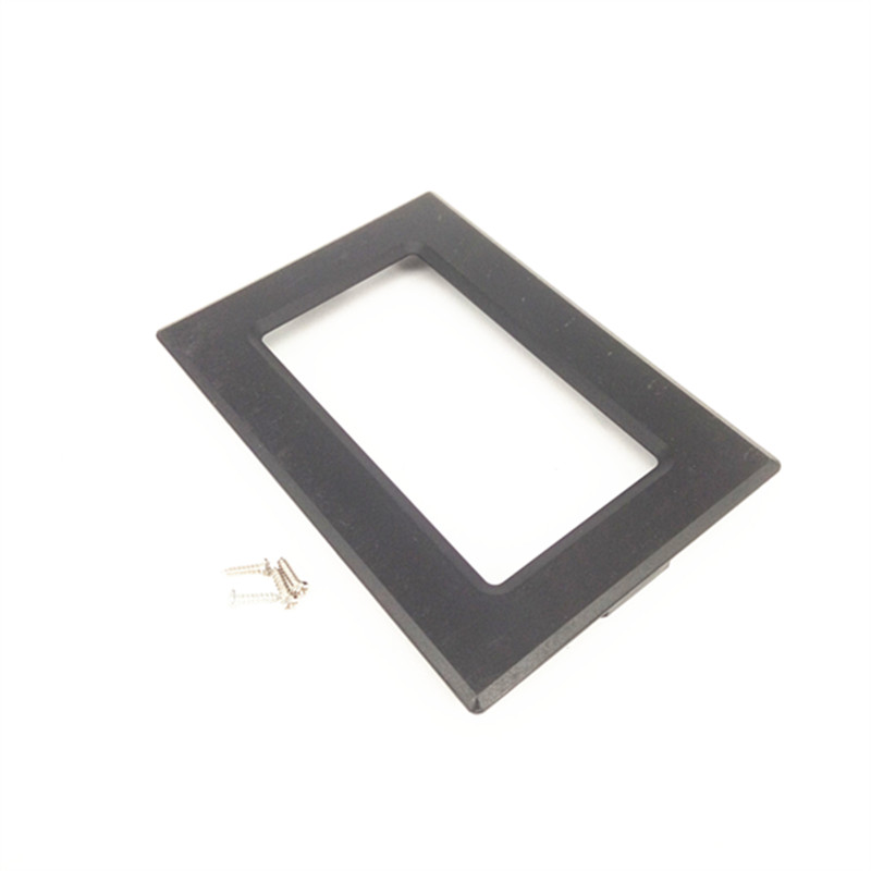 5pcs/lot 12864 Liquid Crystal Display Shell Instrument ABS Flame Retardant Plastic Outer Frame Instrument Case LCD Screen Shell