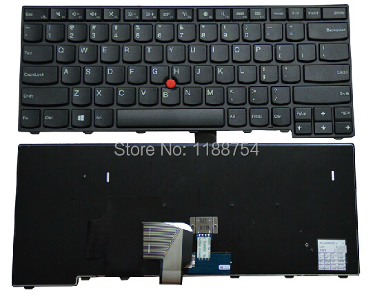 Free shipping New Original Laptop Keyboard for Lenovo ThinkPad T431S T440 T440P E431 E440 T440S 04Y2874 04Y0824 US keyboard russian for lenovo for thinkpad t440s t440p t440 e431 t431s e440 l440 t460 t450 ru laptop keyboard with backlight