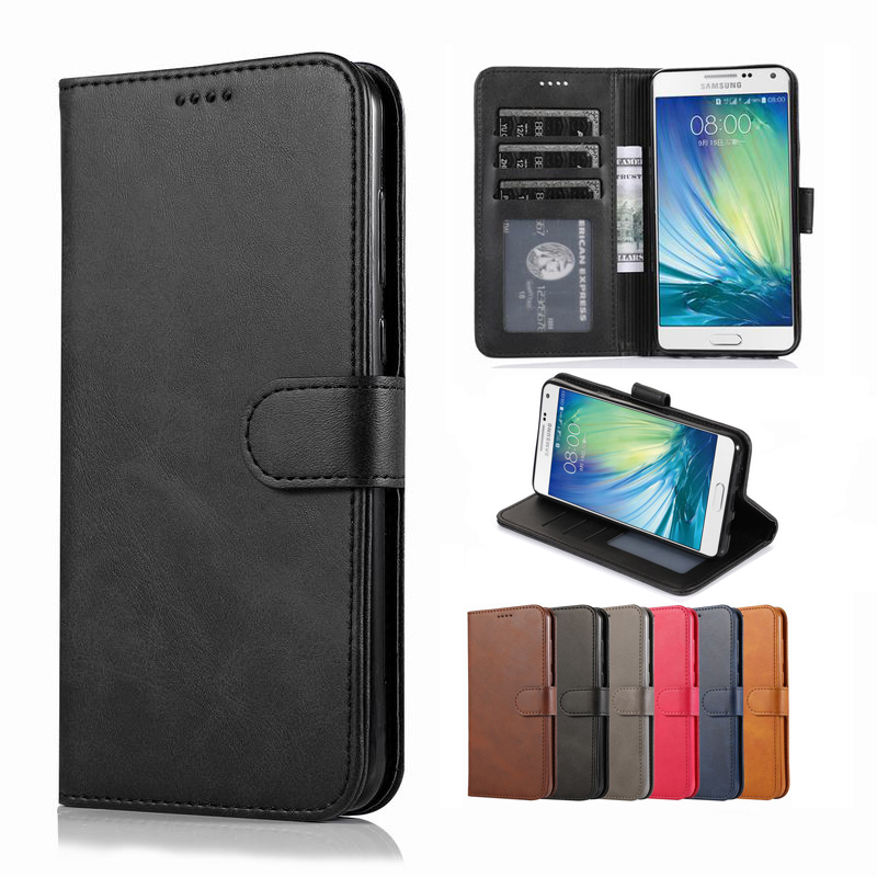 Cover-Case Coque A5100 Samsung Flip Wallet Magnetic For Galaxy Luxury