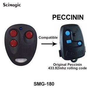 Image 1 - PECCININ remote control garage door opener HCS201PECCININ control garage door gate PECCININ remote control 433mhz rolling code
