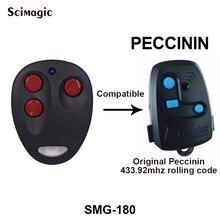 Peccinin 원격 제어 차고 도어 오프너 hcs201peccinin 제어 차고 문 게이트 peccinin 원격 제어 433mhz 롤링 코드