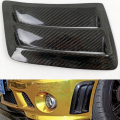1 Pair W204 C63 Carbon Fiber Side Air Fender Vent grill for Mercedes Benz C63 AMG 2008 2009 2010