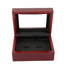 Exquisite Wooden Porous Jewelry Box Jewelry Storage Manager Ring Box Jewelry Organizer Storage Box Gift Ring Accessories
