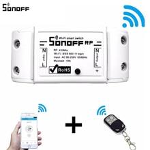 Sonoff RF WiFi Smart Switch Interruptor 433Mhz RF Receiver Intelligent Remote Wireless Control For Smart Home Wi-fi Light Switch