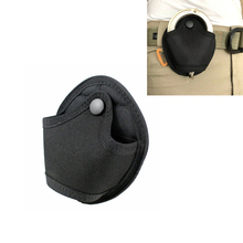 Tactical Molle Handcuff Pouch Case Bag Waist Pockets Holder Cuffs Holster with Snap Closure