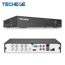 Techege H.264 5 in 1 Security 8CH CCTV AHD DVR 4MP For AHD CVI TVI Analog IP Camera 4.0MP Hybrid Video Recorder 2K Video Output