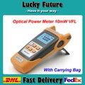 Todos-Fibra Óptica Power Meter-70 a + 3dBm IN-ONE E 10 mW Fiber Optic Cable Tester Visual Localizador de faltas
