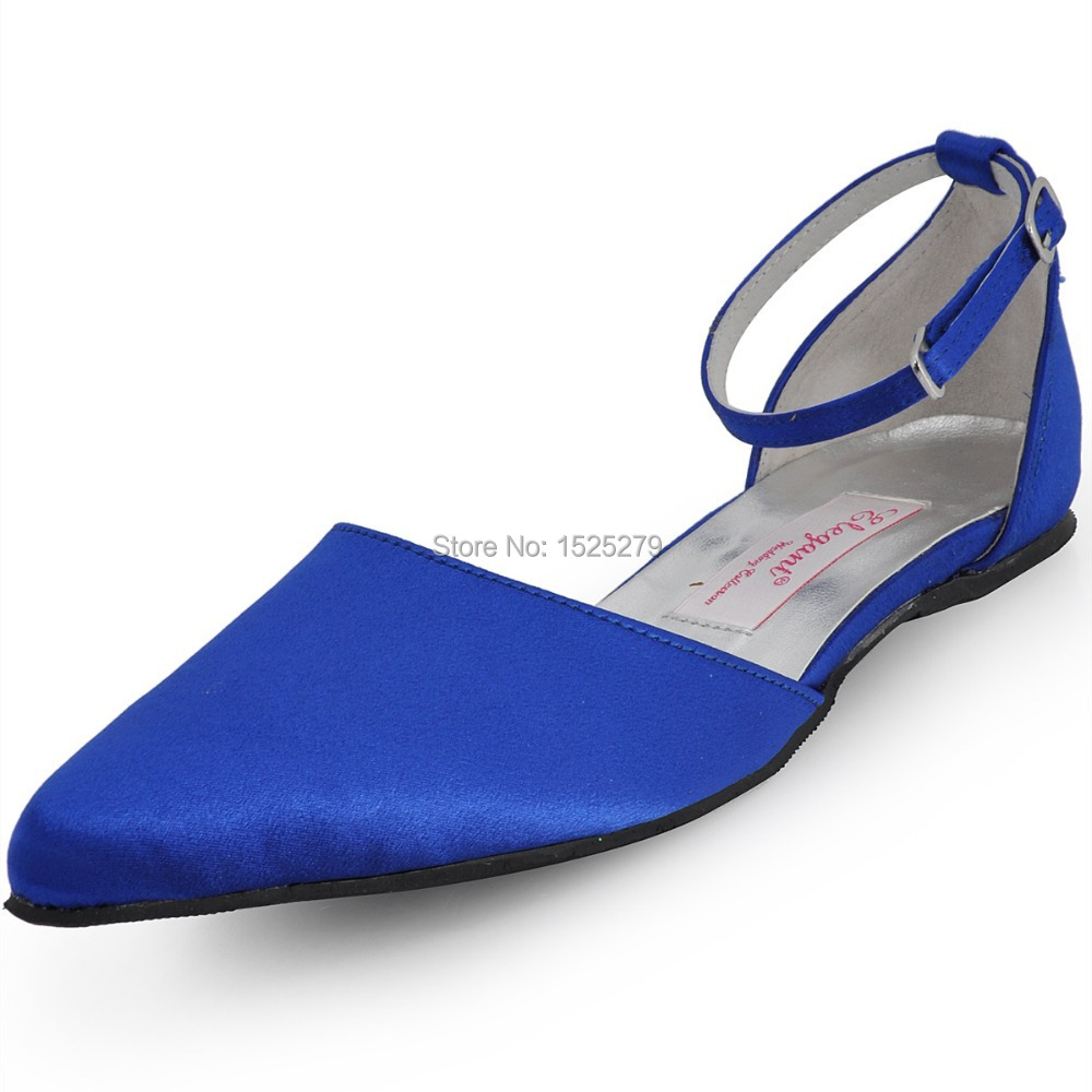 Heel Shoes Blue Satin Flats Promotion-Shop for Promotional Heel ...
