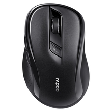 ФОТО new rapoo m500 multi-mode silent wireless mouse with 1600dpi bluetooth 3.0/4.0 rf 2.4ghz for three devices connection