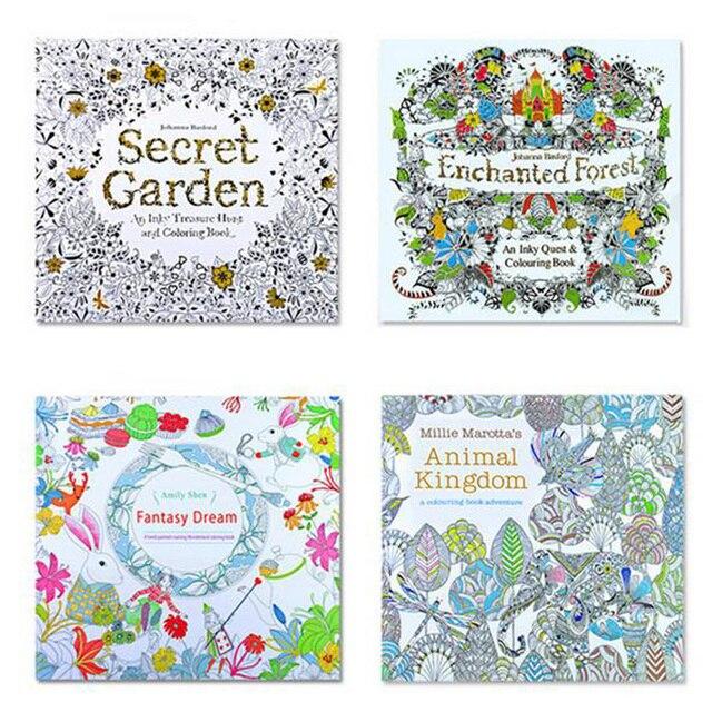 11 patrones para Opition 24 páginas Inglés Libros Para Colorear Para ...