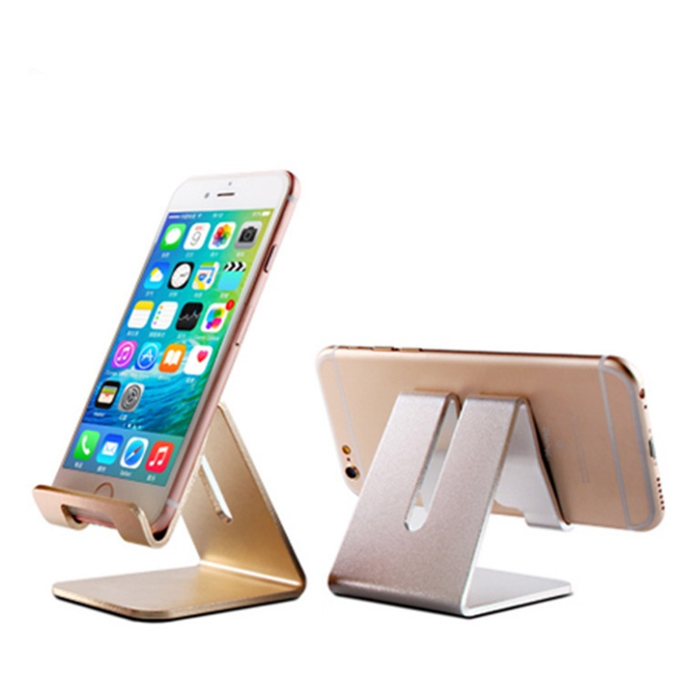 Portable Aluminium Alloy Mobile Phone Holder Bed Office Desk Table Holder for iPhone Huawei Xiaomi Tablet Mount Stand