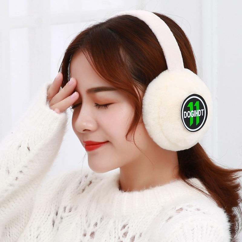 Winter Warm Earmuff For Women Plush Warm Earcap Children Lovely Winter Earmuffs Women's Unisex Ear Cover Earwarmers PS-08