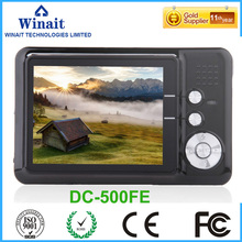 DC-500FE 18MP with Lithium Battery Digital Camera Profissional Photo Camcorder Built-in micphone and speaker Video Recorder Cam