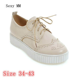 Sexy MM Loafers Flats Woman Casual Flat Platform Shoes b375b4ad7