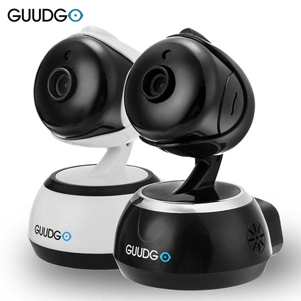 GUUDGO GD-SC02 720P Cloud Wifi Camera IP Camera Pan&Tilt IR-Cut Night Vision Two-way Audio Motion Detection Alarm Monitor wireless wifi ip cctv camera 960p ptz remote control pan tilt two way audio motion detection ir night vision tf card storage
