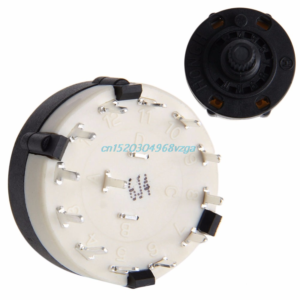 Rotary Channel Selector Switch Rs26 Band 1 Pole Position 12 Lot5 8 Panel Wiring 1p8t Selectable H028 In Switches From Lights Lighting On Alibaba Group