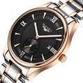 2016 Nuevos hombres de Moda de Cuarzo Relojes de Marca de Lujo de Cuero de Los Hombres GUANQIN Reloj Ocasional Relojes de hombre reloj Relogio masculino