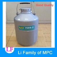 YDS-15 2017 Hoge Kwaliteit Vloeibare Stikstof Opslag Container Liter Medische Gebruik Vloeibare Stikstof Container