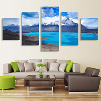 New Arrival 5Pcs Modern HD Print Picture Wall Art Cuadros Decoracion Wall Pictures For Living Room