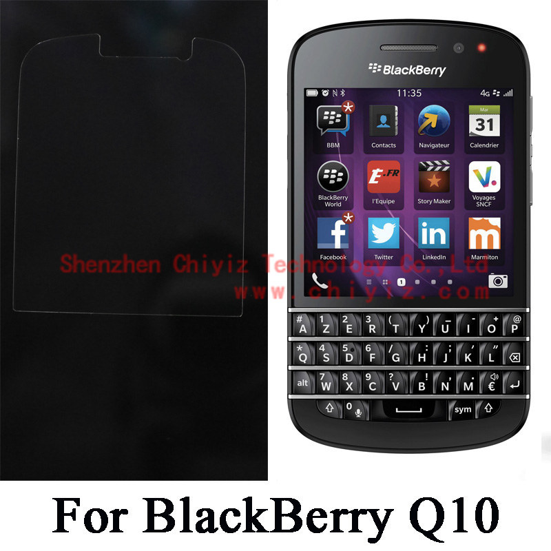 US $0 99  Clear Glossy Screen Protector Guard Cover protective Film For  BlackBerry Q10 LTE SQN100 1 SQN100 2 SQN100 3 SQN100 4 SQN100 5-in Phone