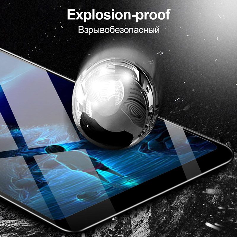 Tempered Glass Asus Zenfone Max Pro M2 ZB631KL Full Coverage Screen Protector Protective Film ZB633KL Full Glue Full Adhesive in Phone Screen Protectors from Cellphones Telecommunications