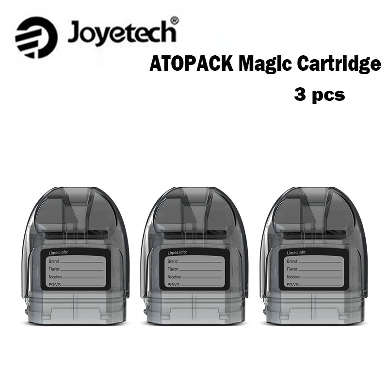 Joyetech Atopack Magic Starter Kit 1300mAh with Innovative Single Switch Design Supports Changeable Cotton Mod Vape vs ego aio